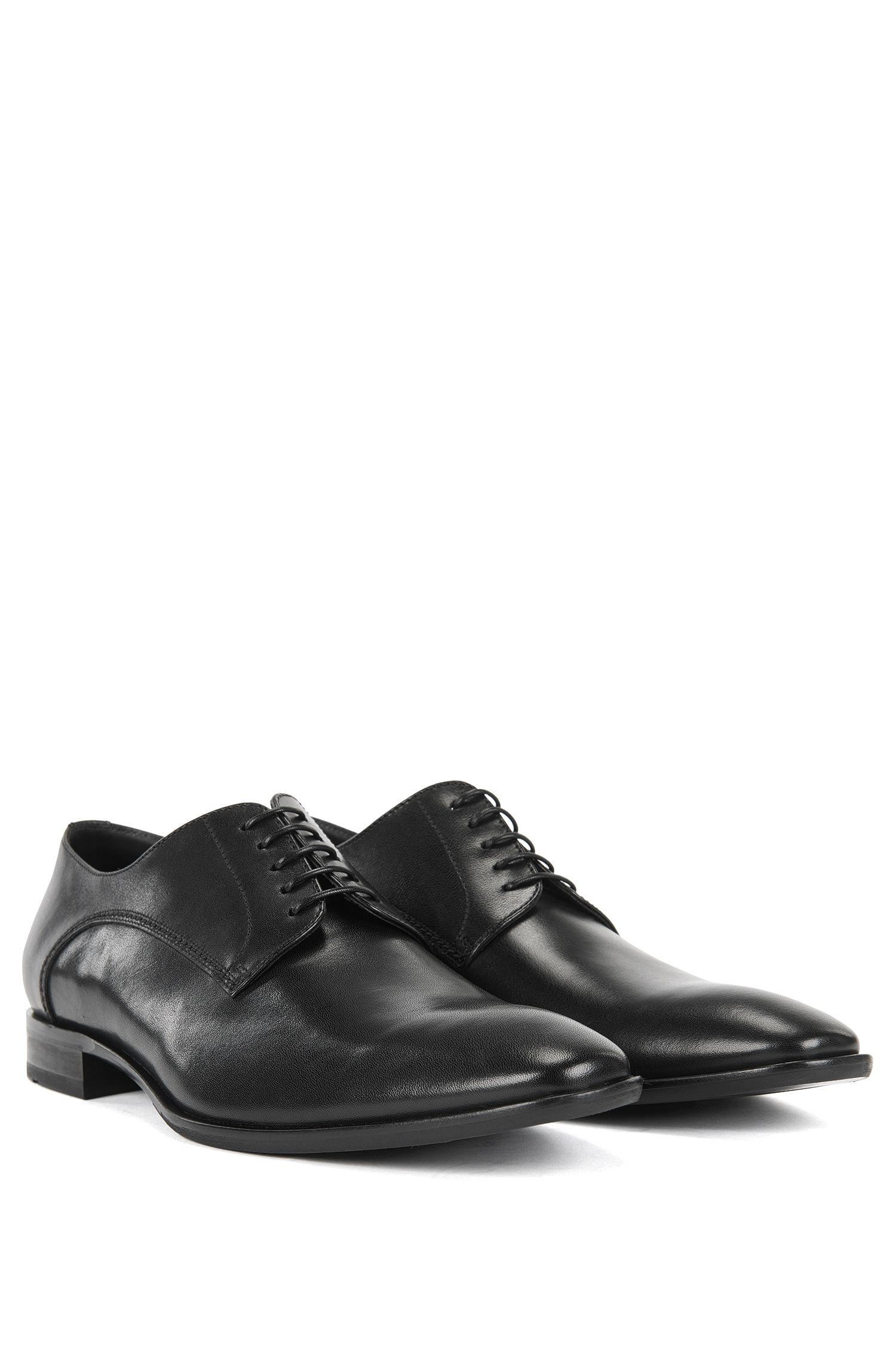 Schnürschuhe aus glattem Leder: 'Carmons'