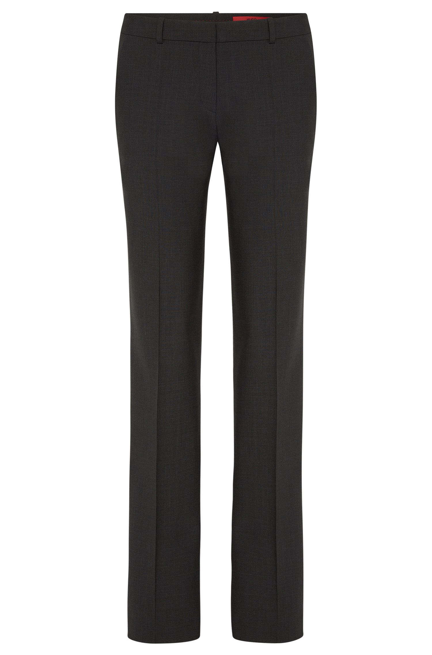 New wool trousers with elastane 'Hinass-5'