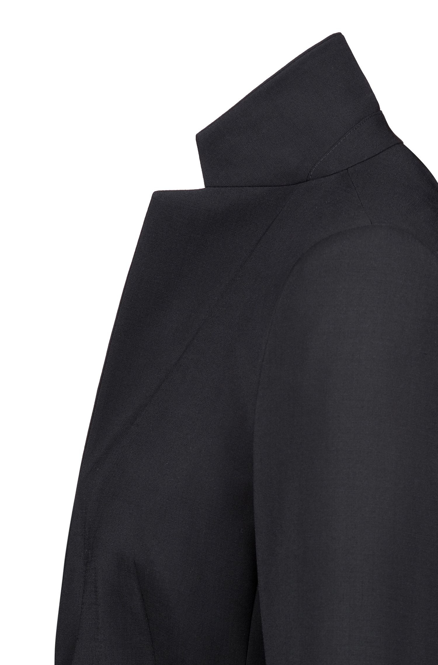Leicht taillierter Blazer aus Stretch-Schurwolle: 'Amiesa-2'