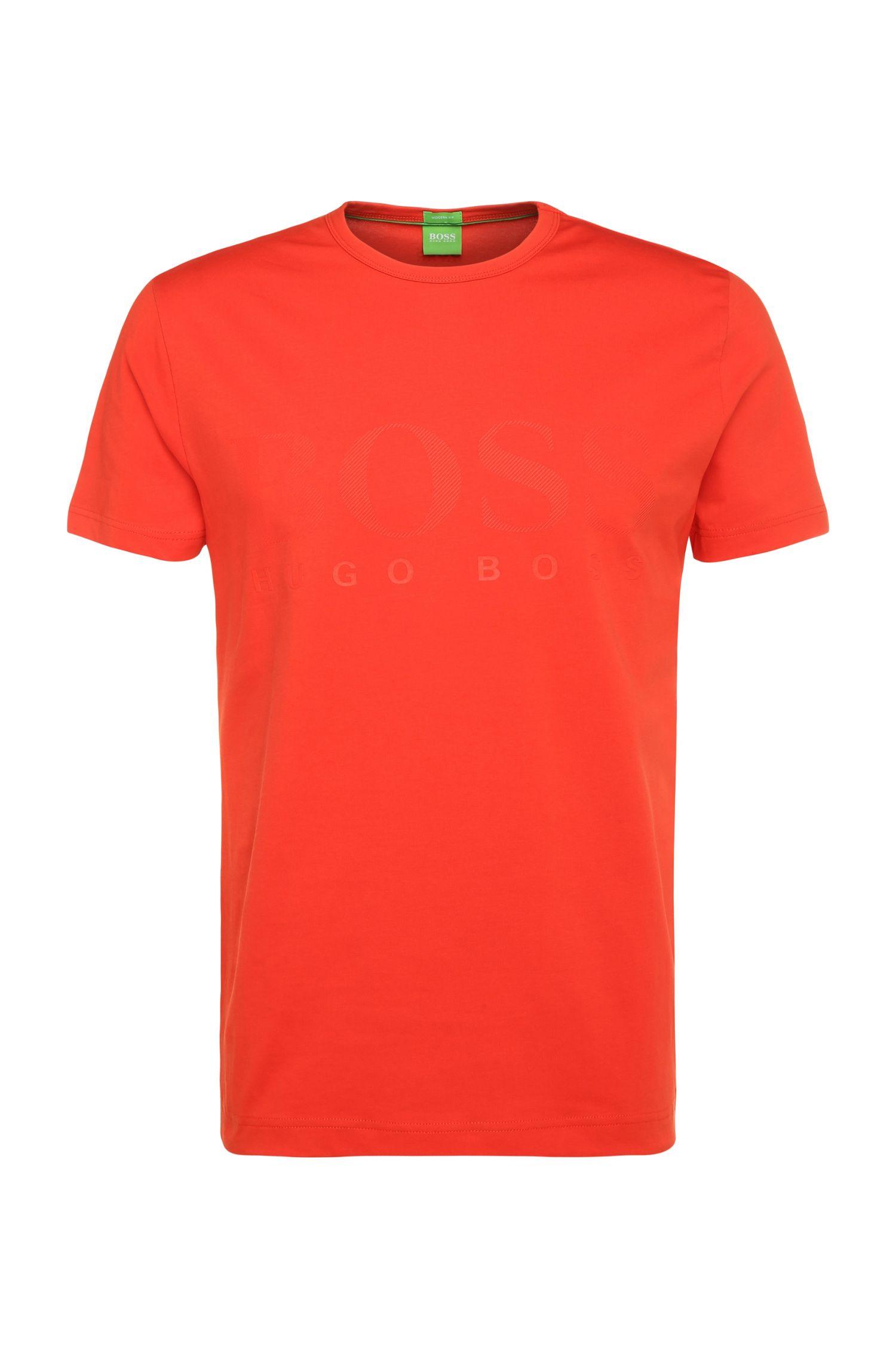 T-shirt «TeeUS» en mélange de coton et d'élasthanne