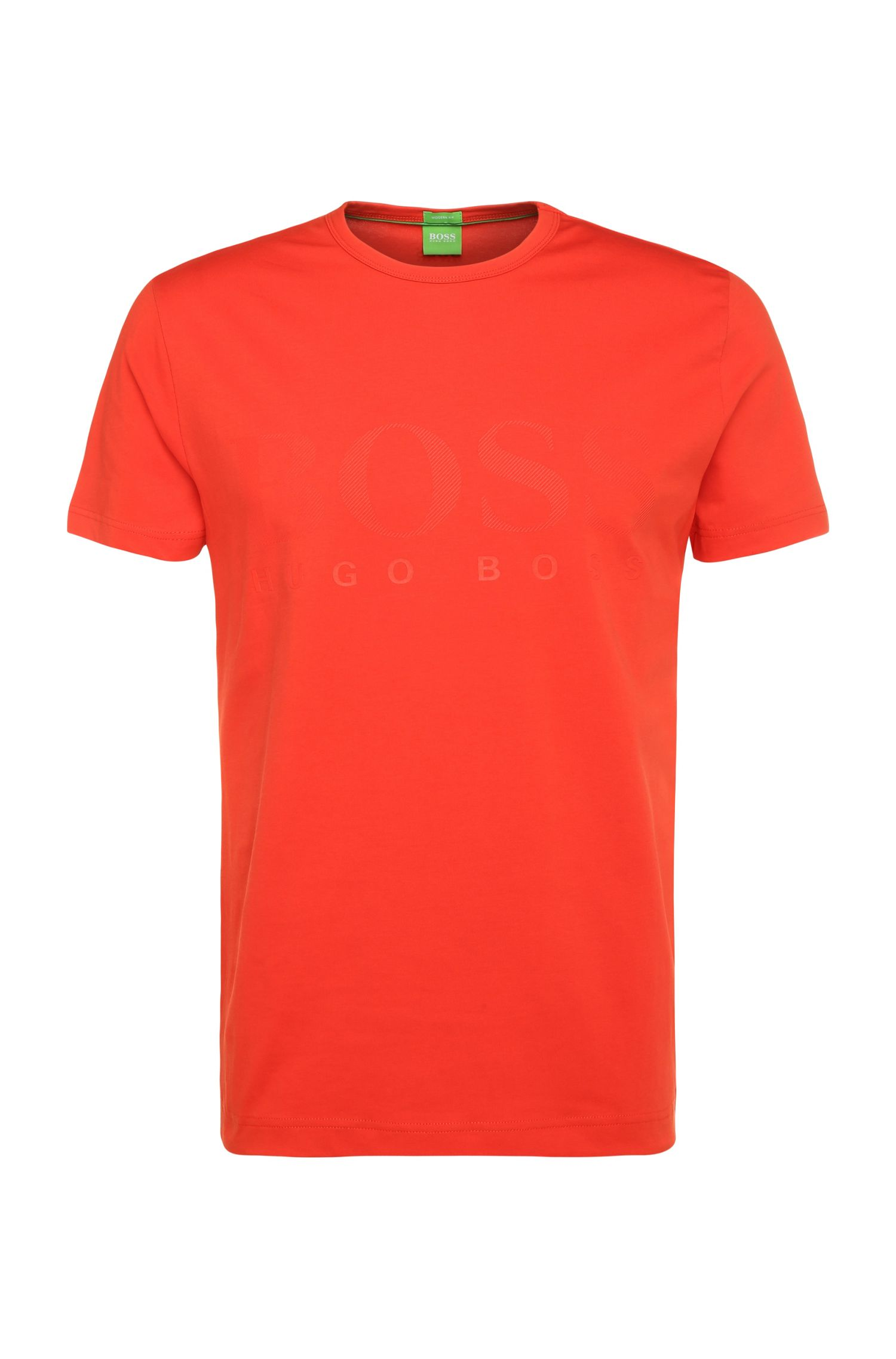 T-Shirt ´Tee US` aus Baumwoll-Elasthan-Mix