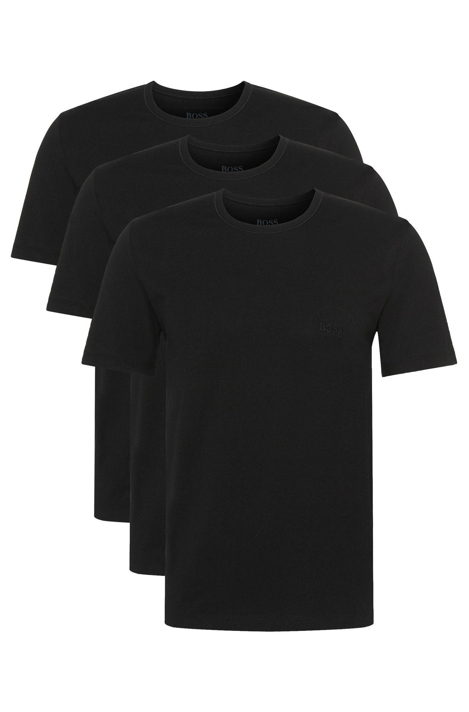 T-shirt in cotone nella confezione da tre