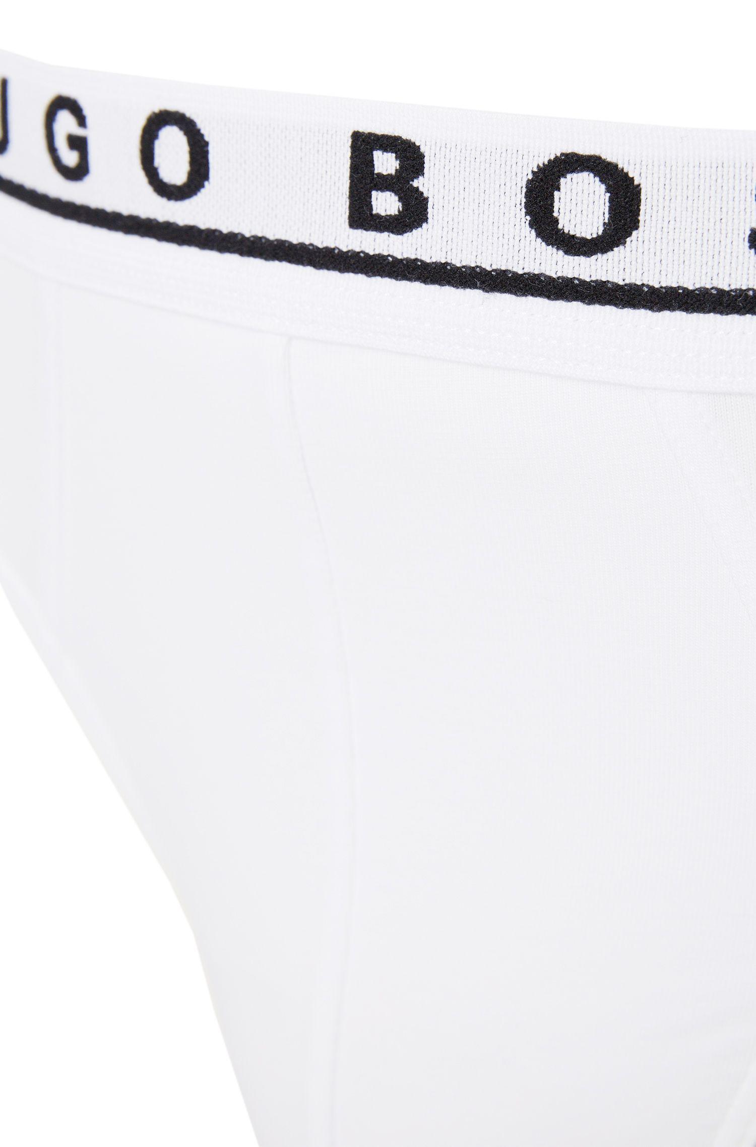 Slip en lot de3, en coton stretch: «Mini 3P BM»