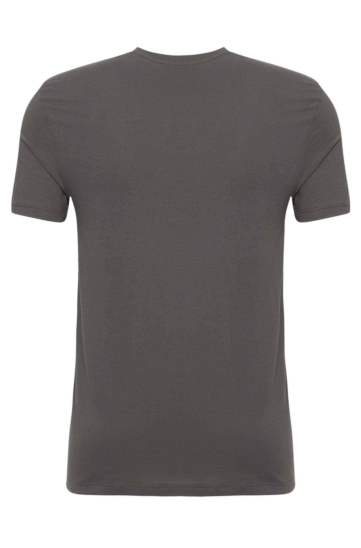T-shirt en coton à colV: «Shirt VN BM»