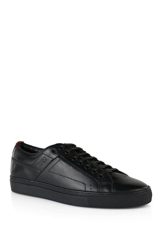 Leather sneakers: 'Futesio', Black