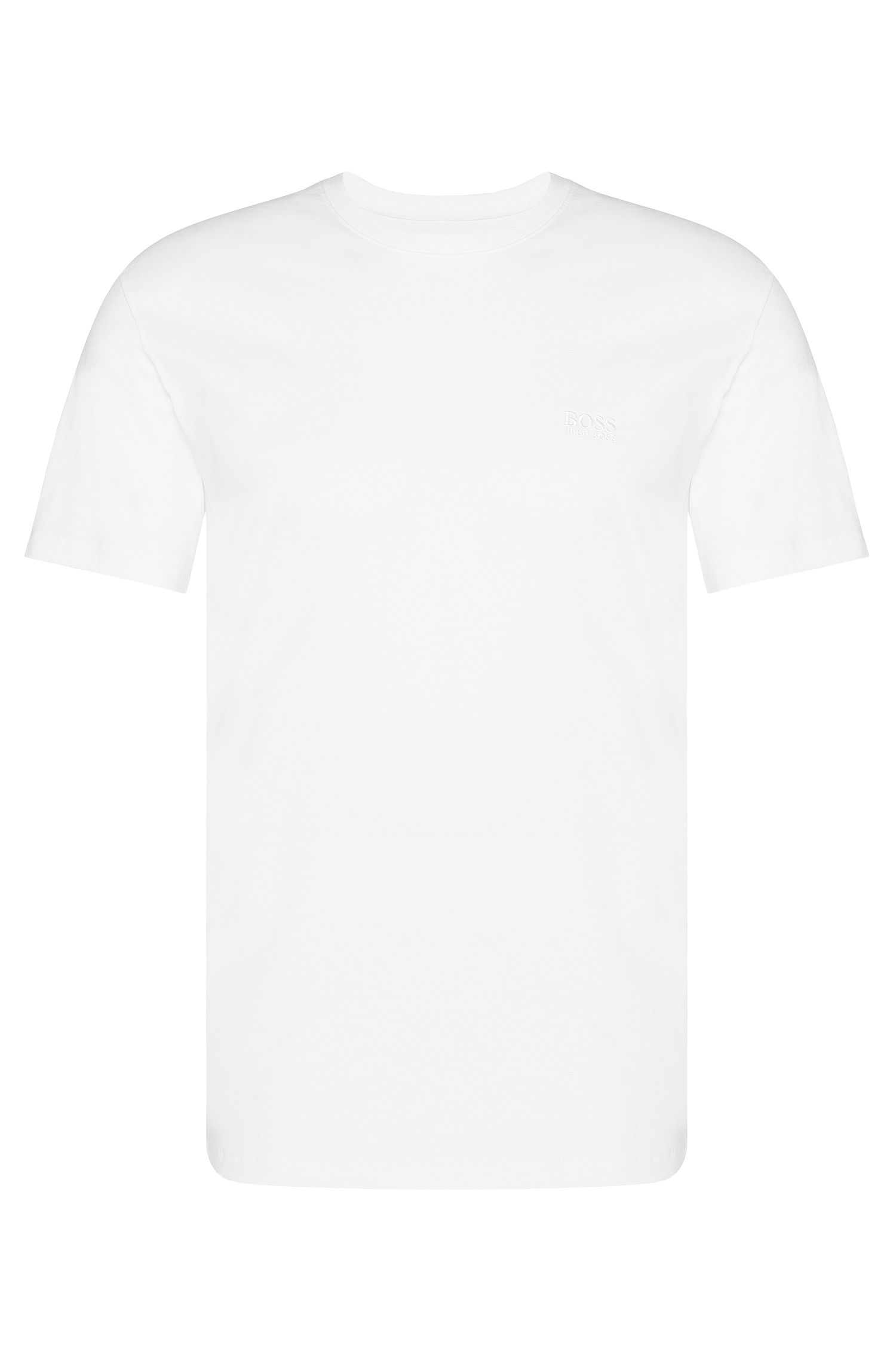 T-shirt Relaxed Fit uni en coton, en lot de deux : « Shirt RN 2P BM »