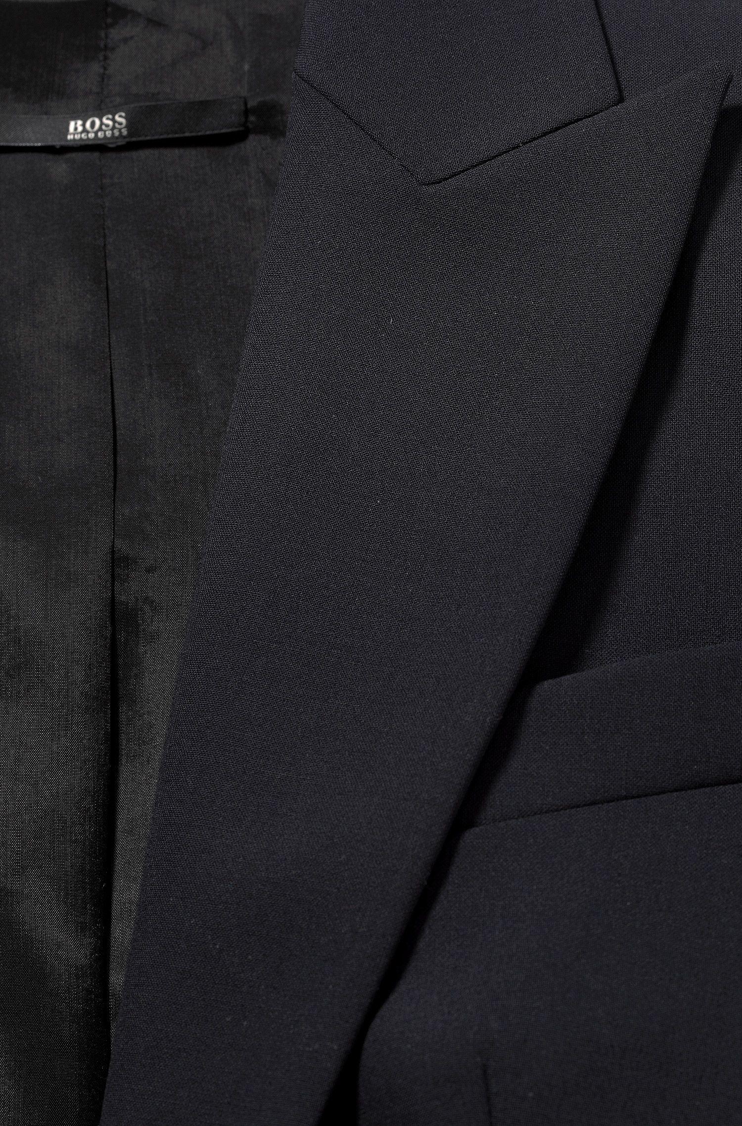 Taillierter Blazer aus Stretch-Schurwolle: 'Jadena'
