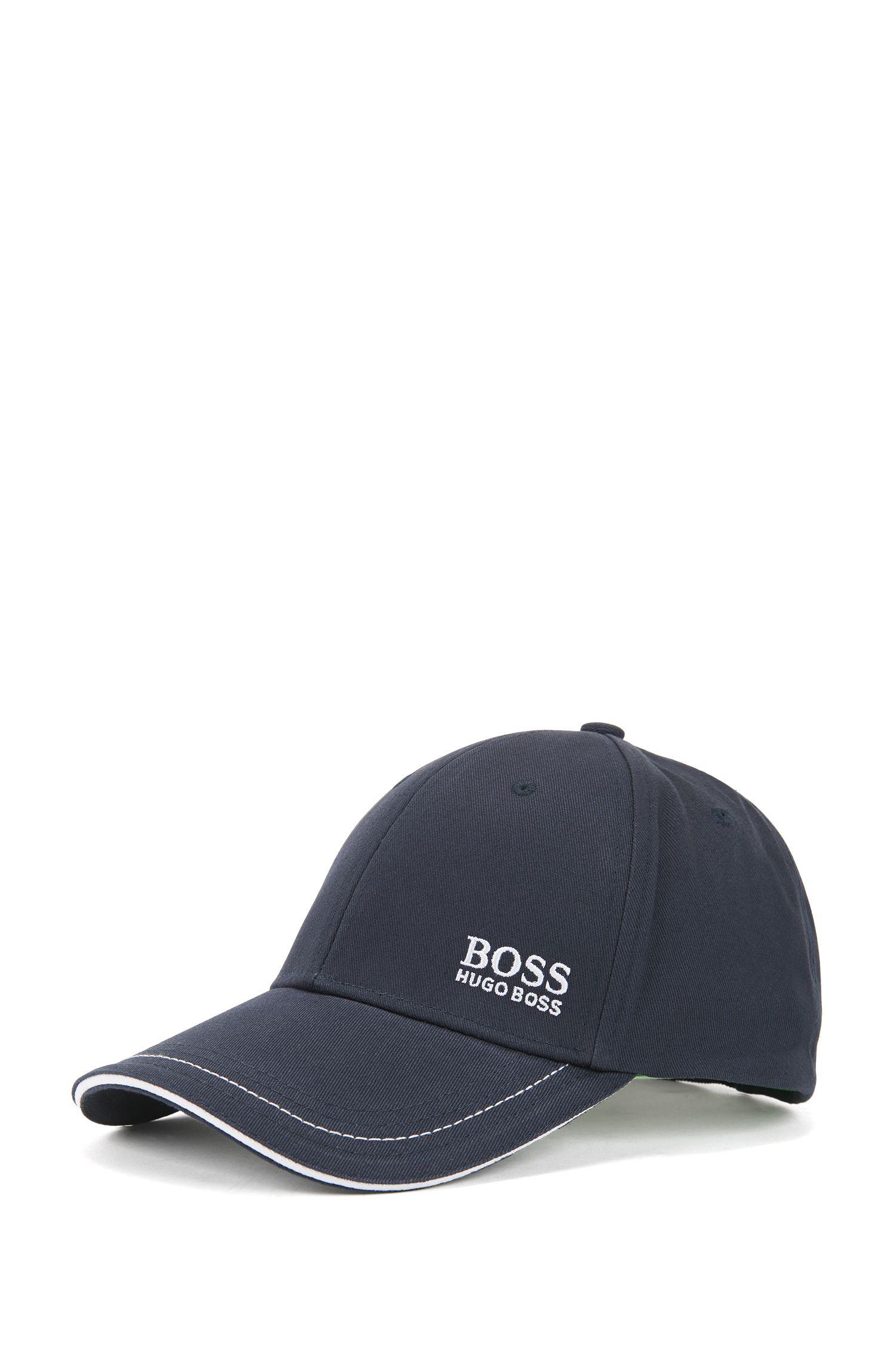 Baseball Cap aus Baumwolle mit Logo-Stickerei von BOSS Green