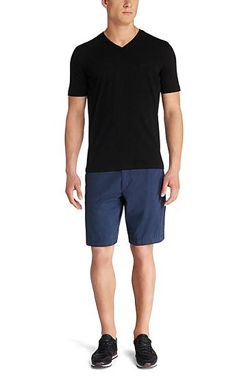 Doppelpack Regular-Fit T-Shirt aus Baumwolle: 'Brothers  01', Schwarz
