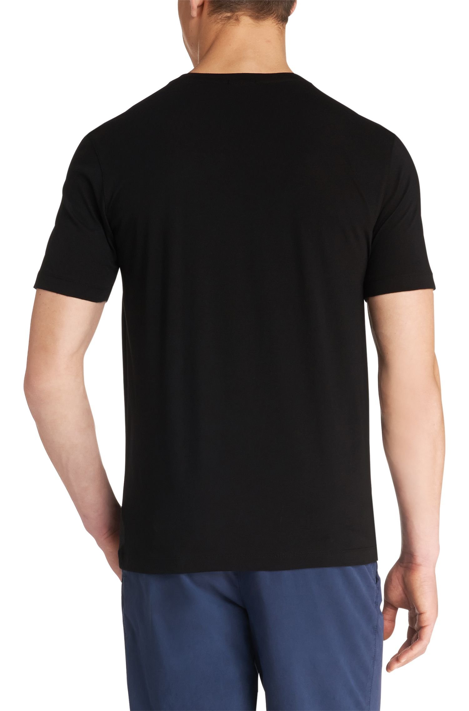 Doppelpack Regular-Fit T-Shirt aus Baumwolle: 'Brothers  01'