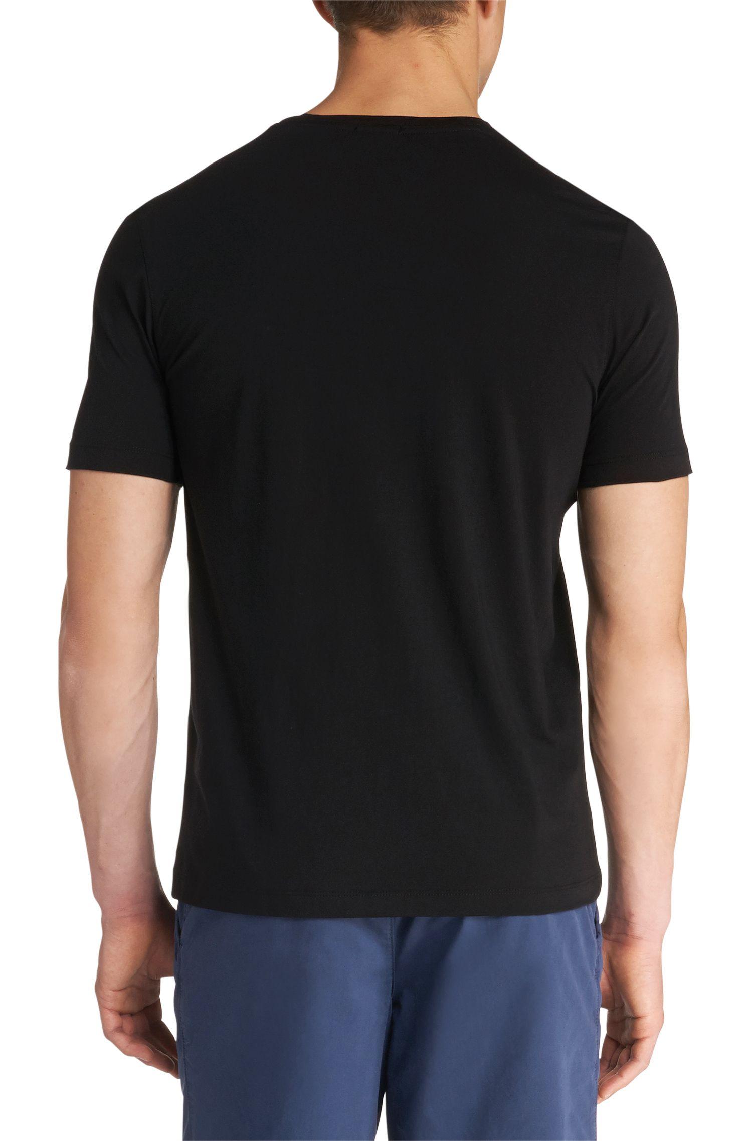 T-shirt Regular Fit en lot de deux, en coton: «Twins01»