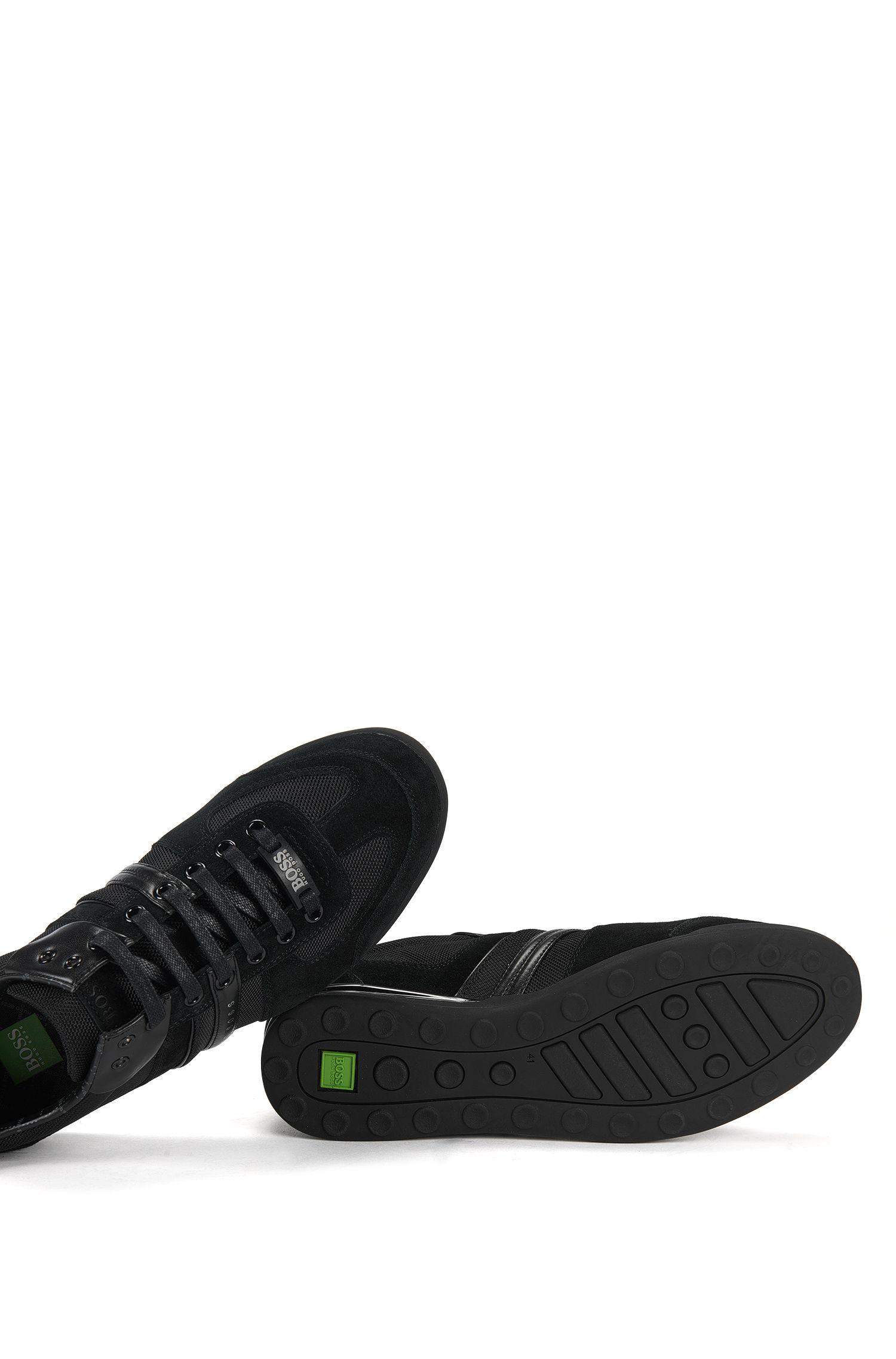 Sneakers im Leder-Nylon-Mix: ´Akeen`