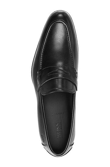 Loafer ´Bront` aus Leder, Schwarz