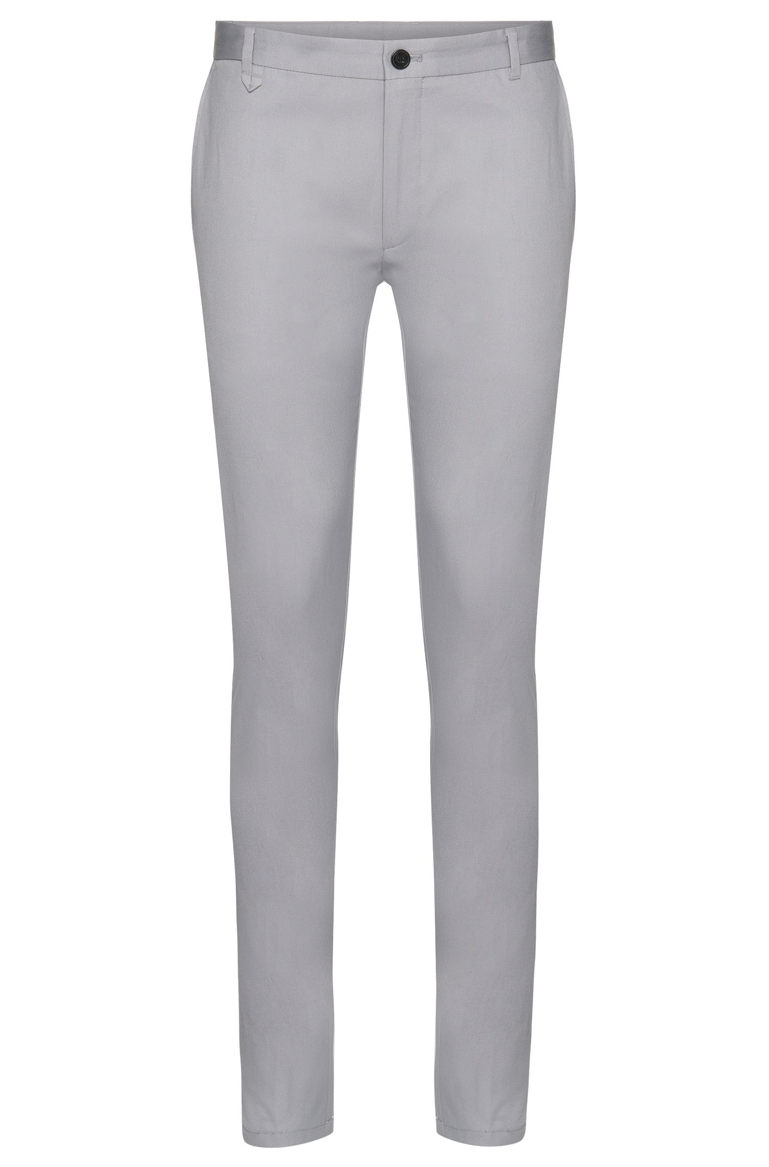 Extra slim-fit chinos in stretch cotton: 'Heldor1'