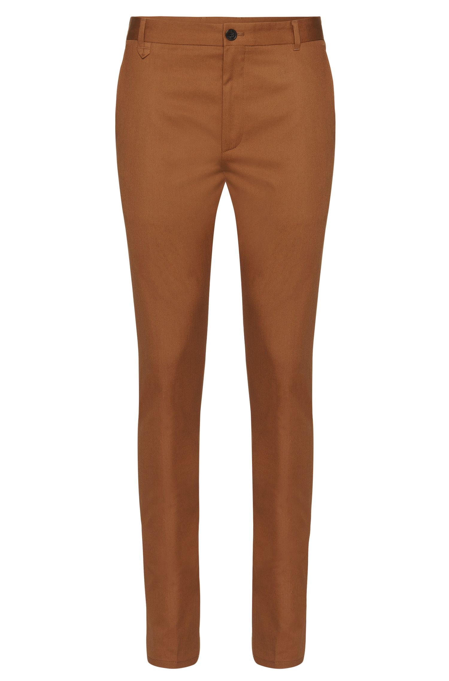 Extra slim-fit chino van stretchkatoen: 'Heldor1'