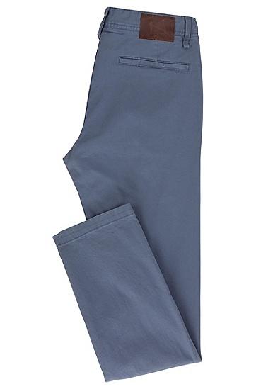 修身版弹力棉斜纹棉布裤:'Schino Slim D',  415_海军蓝色