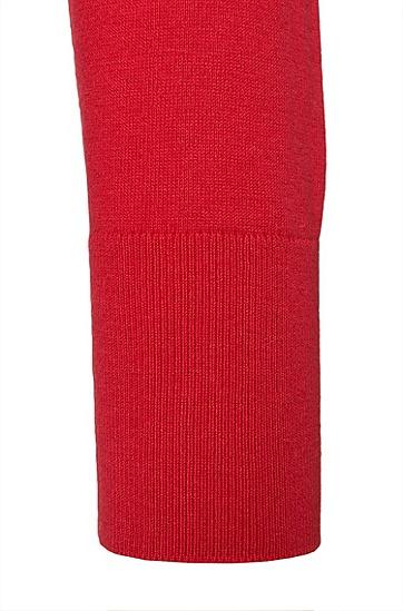 Feinstrick-Pullover aus Baumwoll-Mix mit Seiden- und Kaschmiranteil: 'Sorinus', Hellrot
