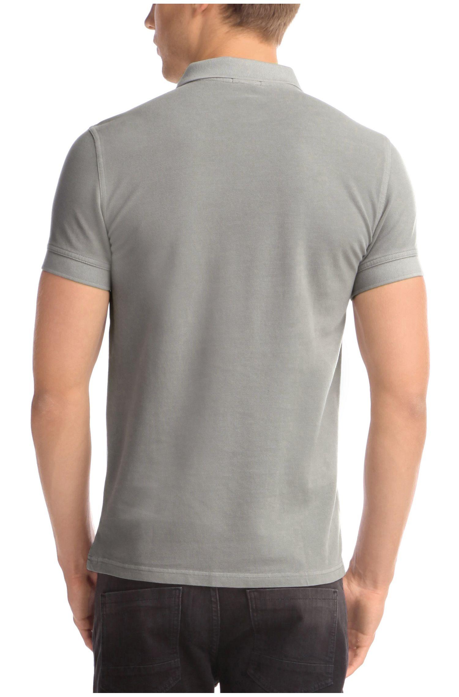 Slim-Fit Poloshirt aus Baumwolle: ´Pascha`
