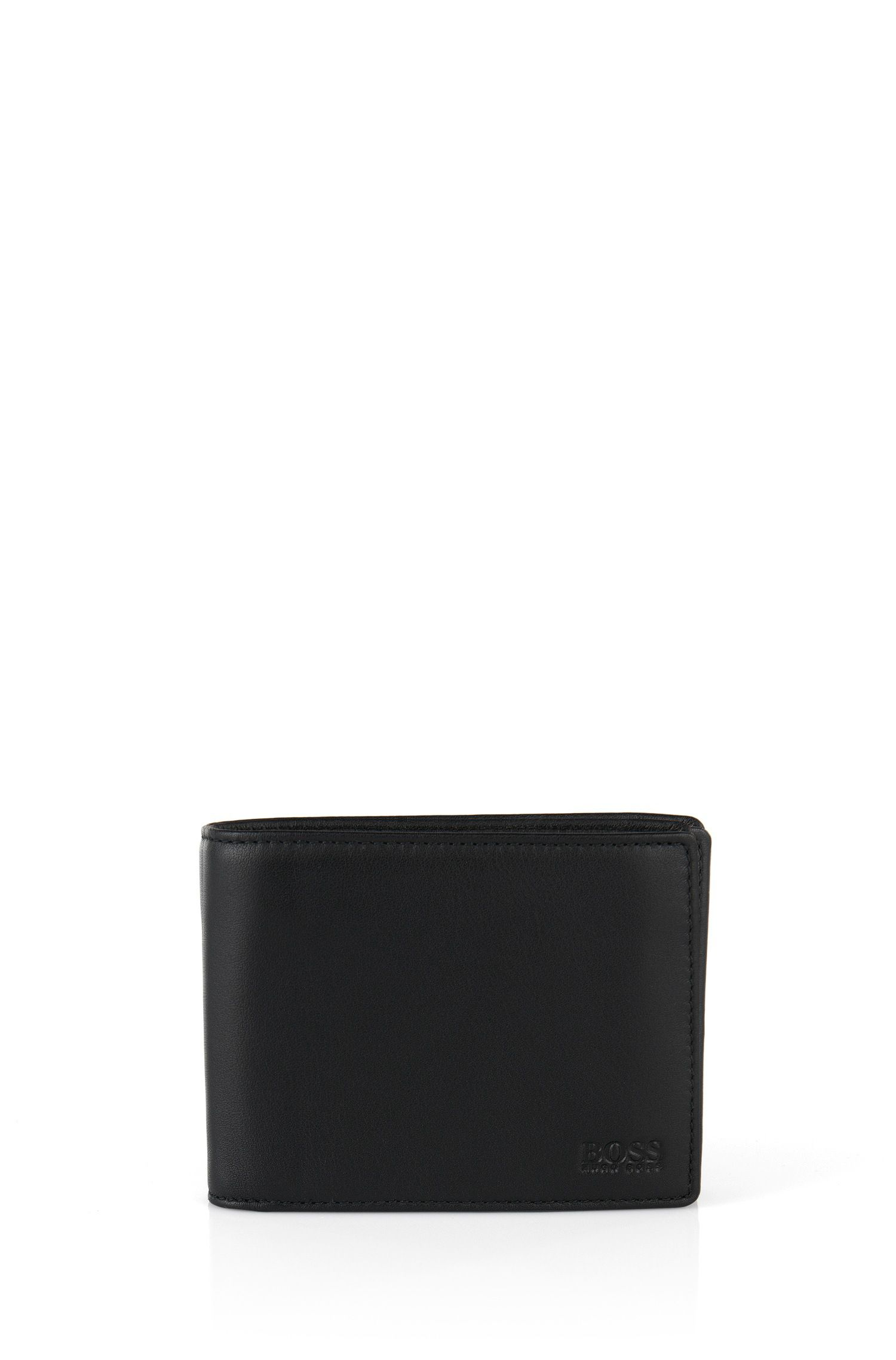 Smooth leather wallet: 'Arezzo'