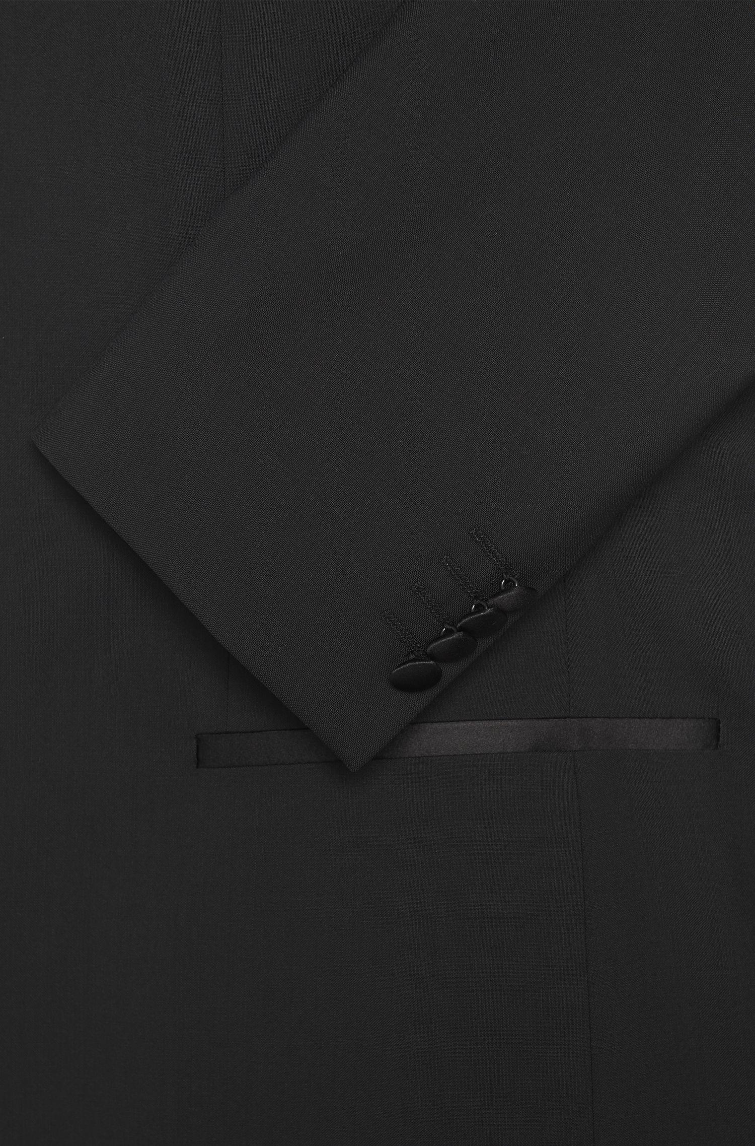 Regular-Fit Smoking aus Schurwolle mit Besätzen: 'The Stars1/Glamour1'