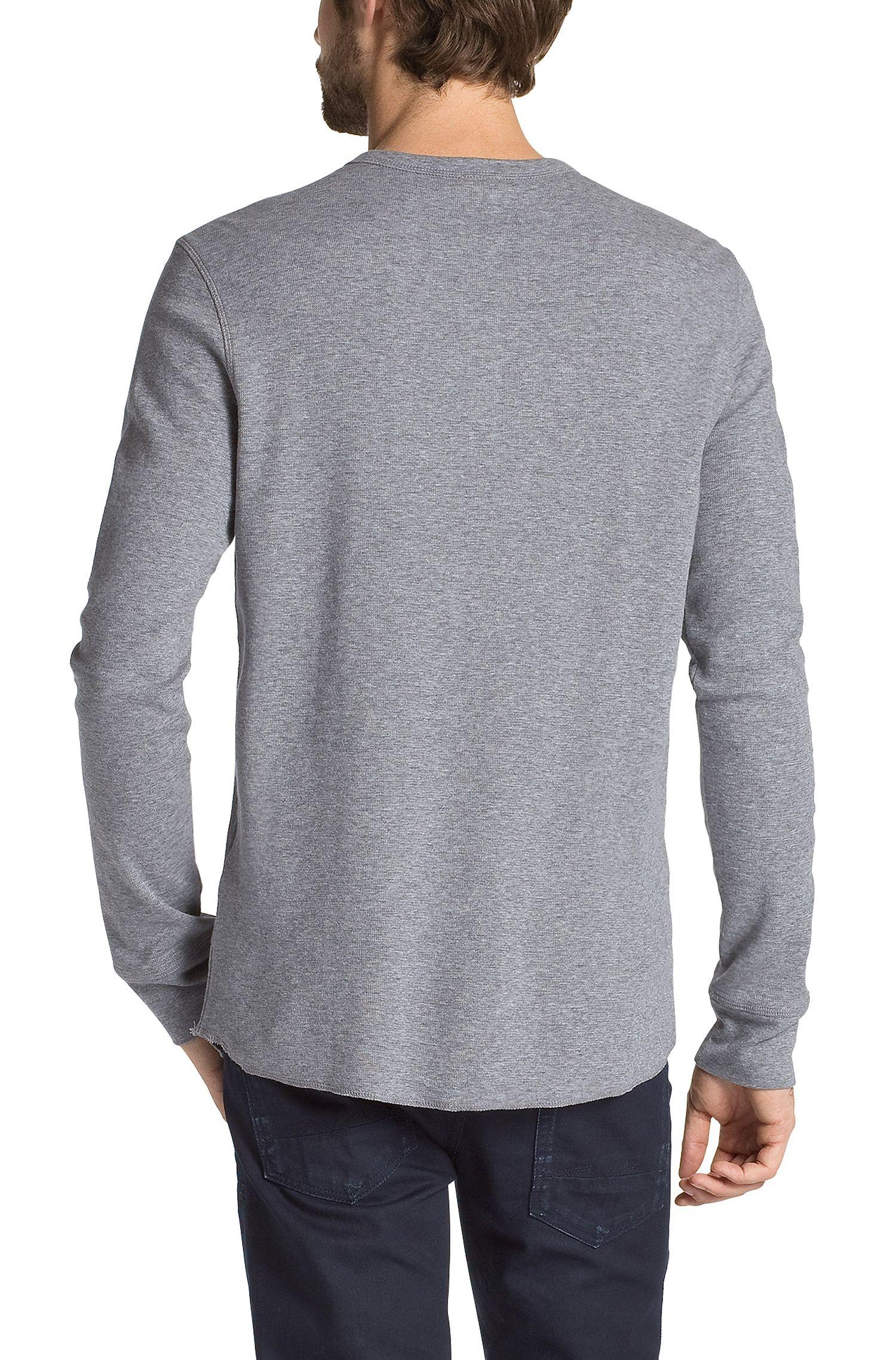 T-shirt à manches longues, coton mélangé, Trukk