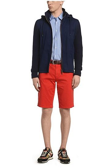 常规版纹理质感休闲衬衫 'CliffE',  460_淡蓝色