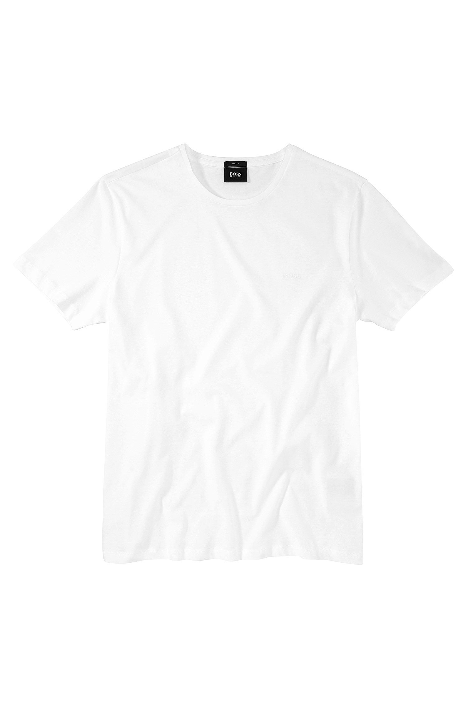 T-shirt Slim Fit en coton : « Lecco 80 »