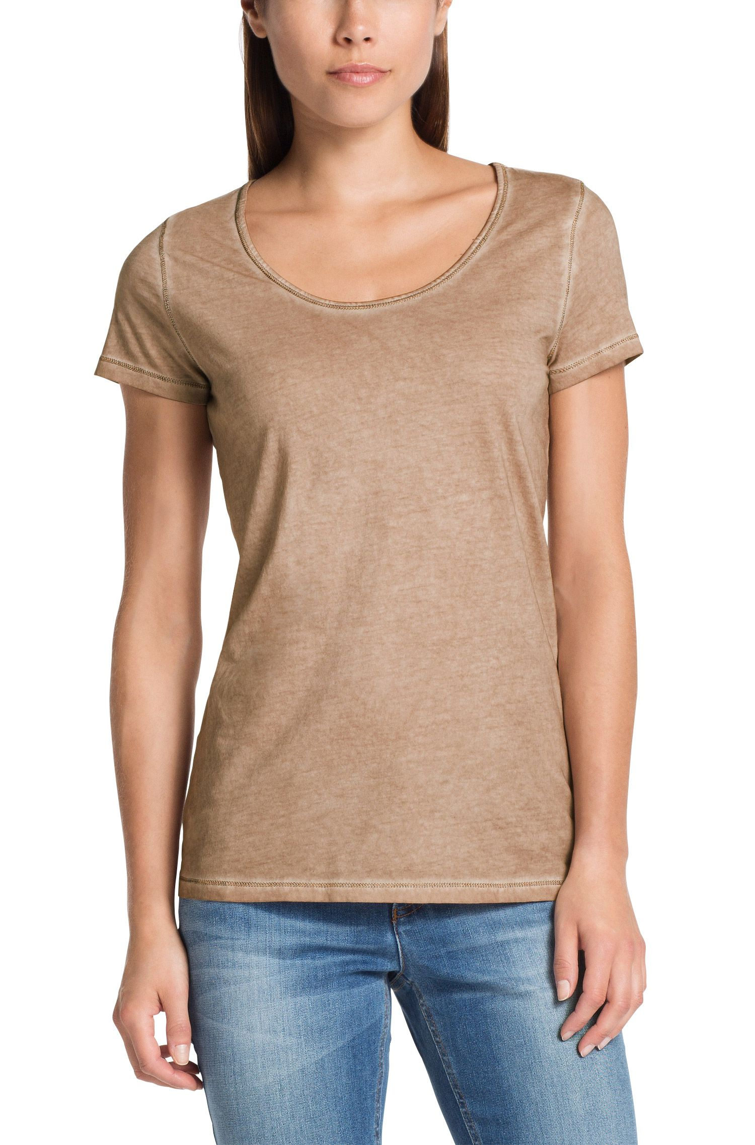 T-Shirt ´Tahiras` aus Baumwolle