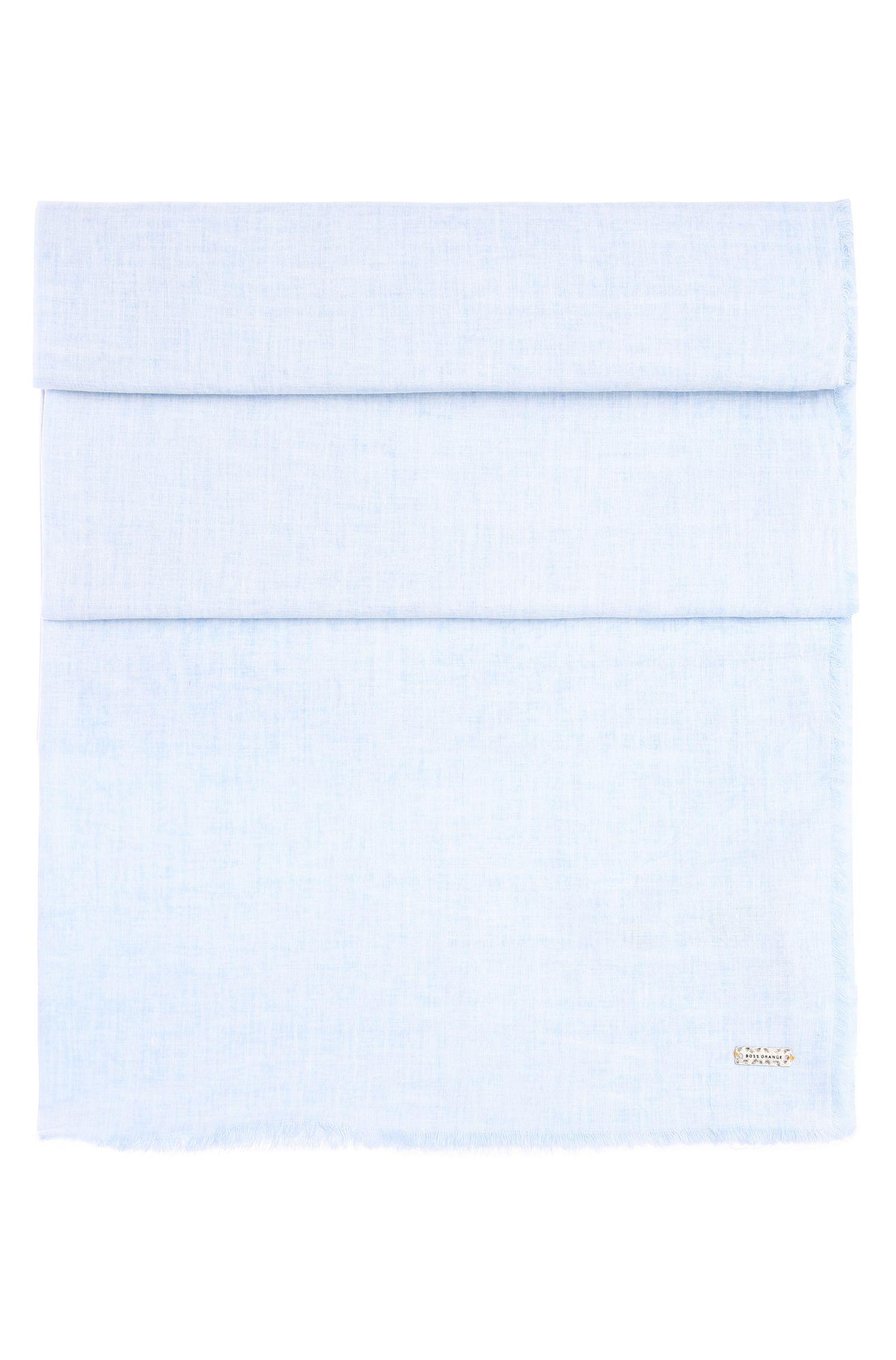 Plain scarf in cotton: 'Nubasica 1'