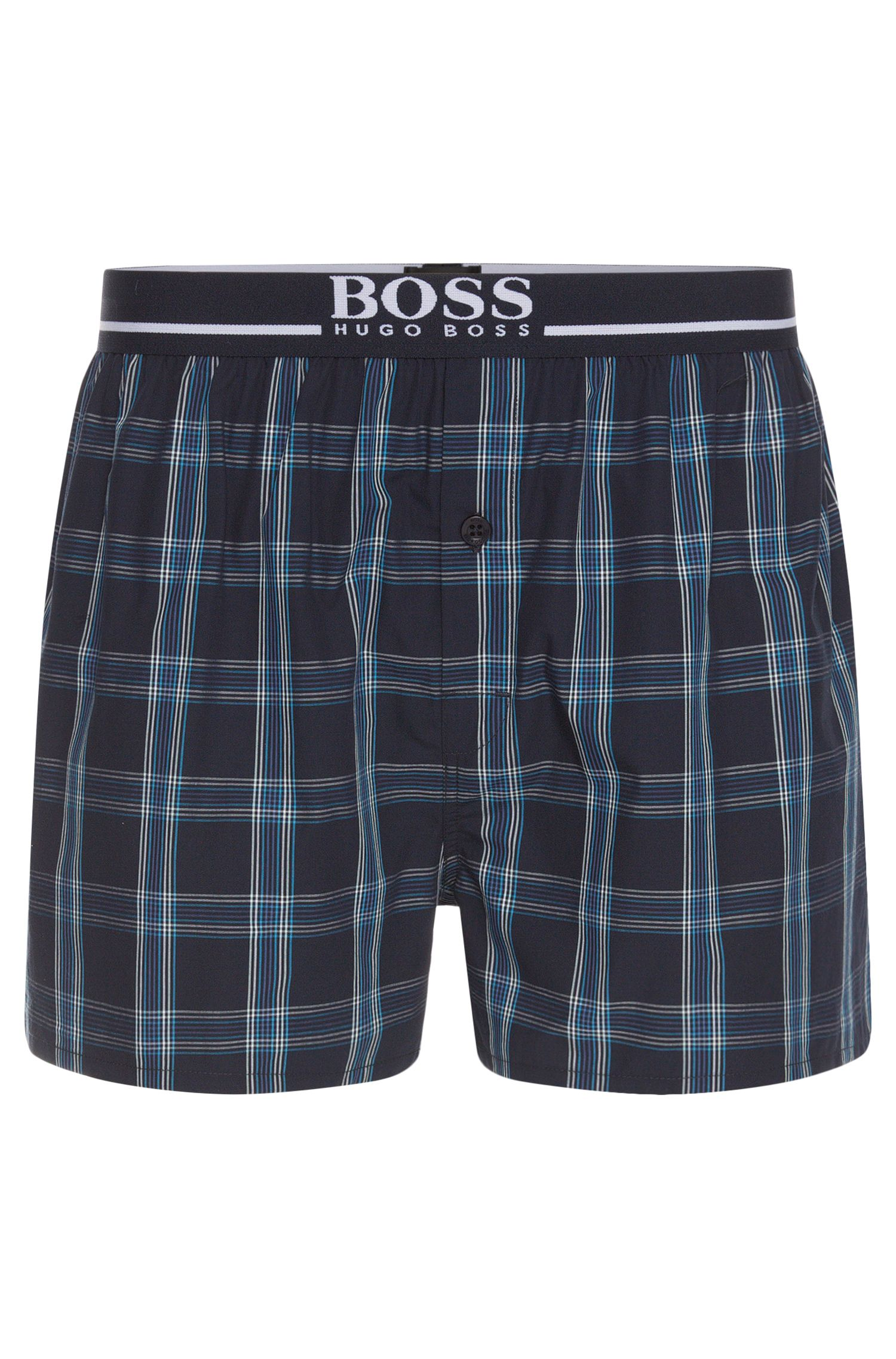 Regular fit boxer shorts in cotton: 'Woven Boxer EW 1'