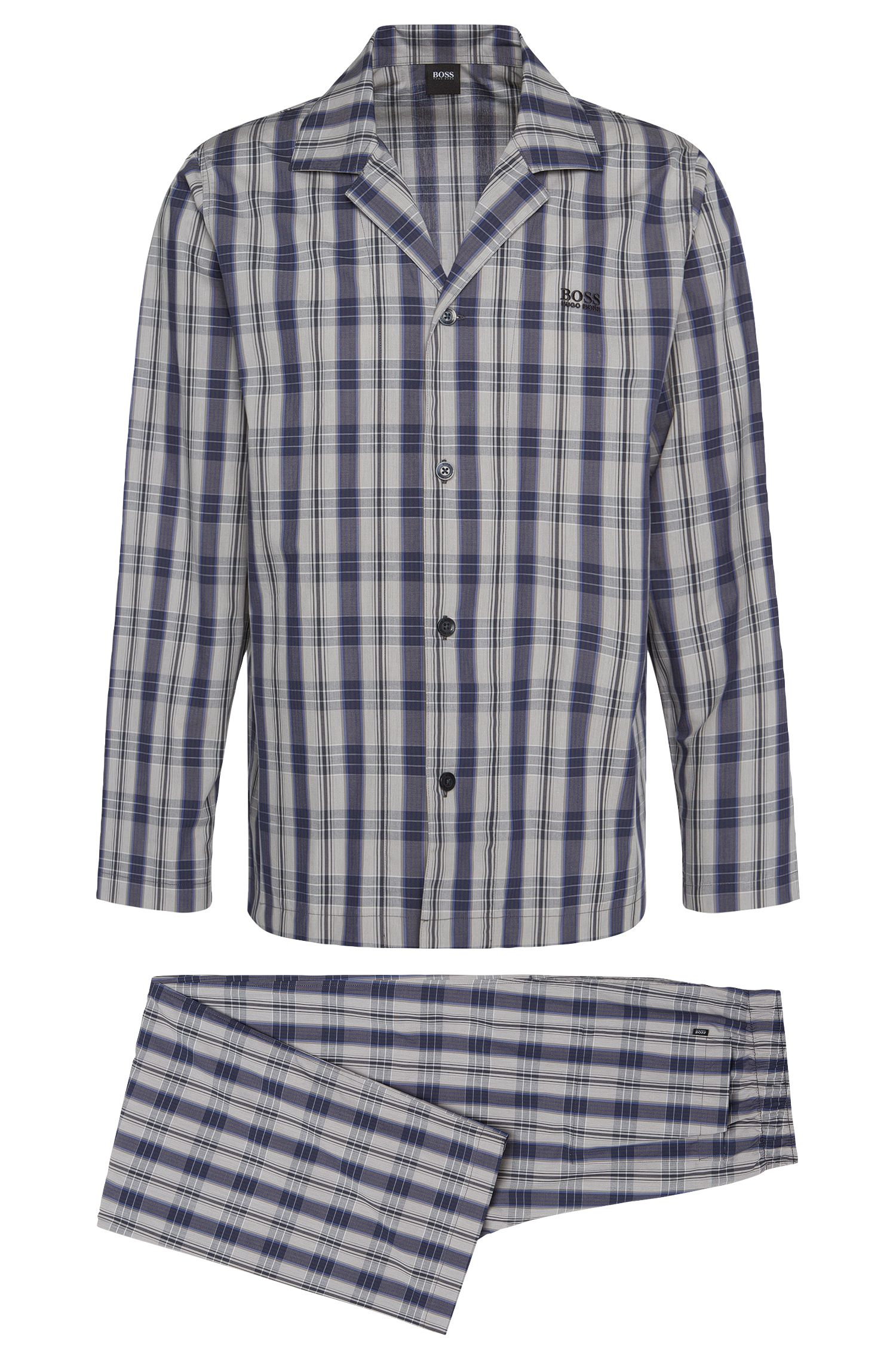 Pyjama van katoen met dessin: 'Pyjama 1'
