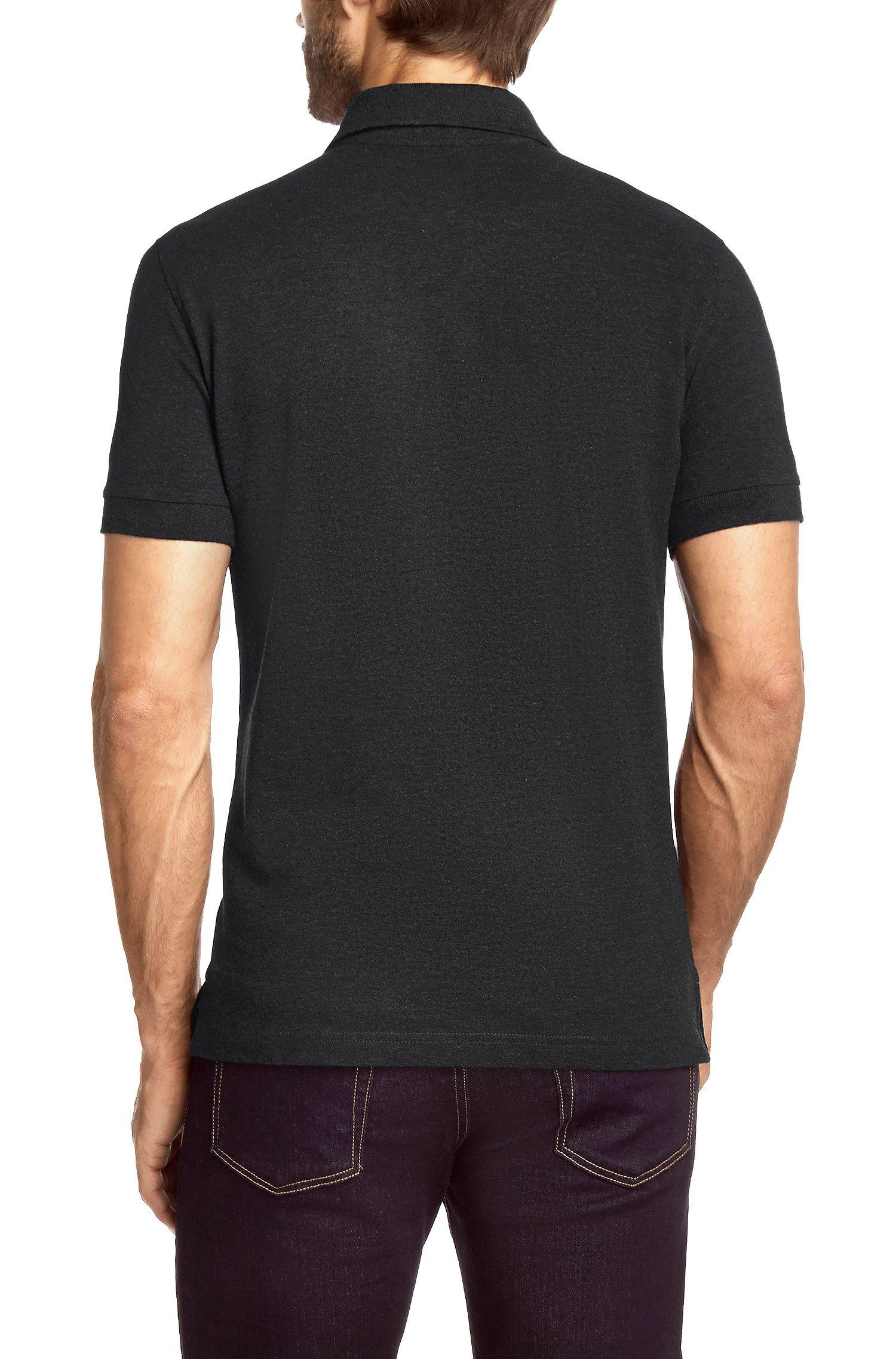 Polo Regular Fit en coton Pima: «Firenze/Logo Modern Essential»