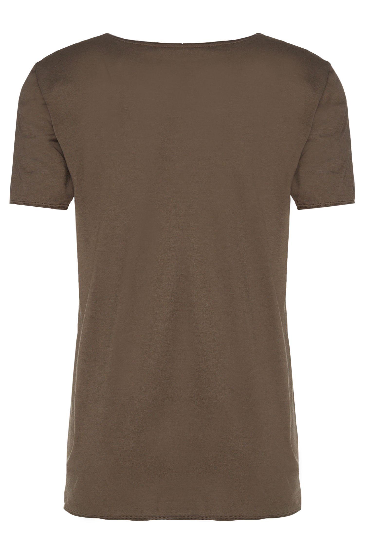 T-shirt Loose Fit en coton: «Depus»