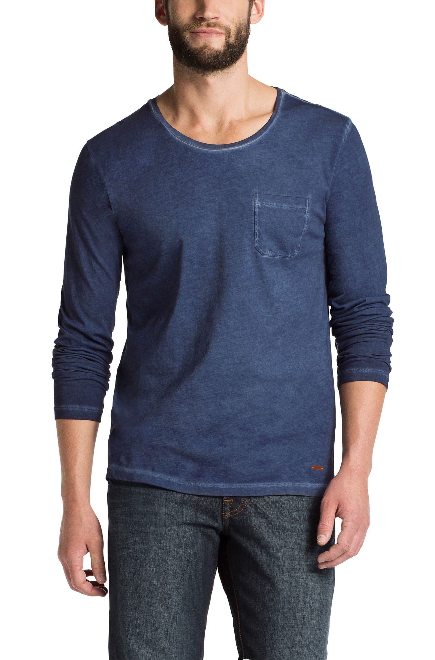 Shirt met lange mouwen 'Toulon 1' met ronde hals