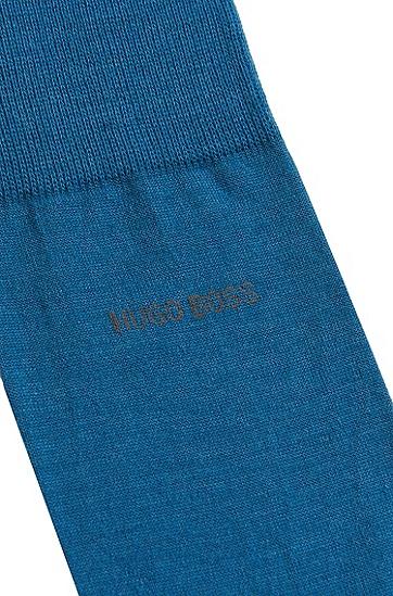 Socken aus Woll-Mix: 'John', Blau