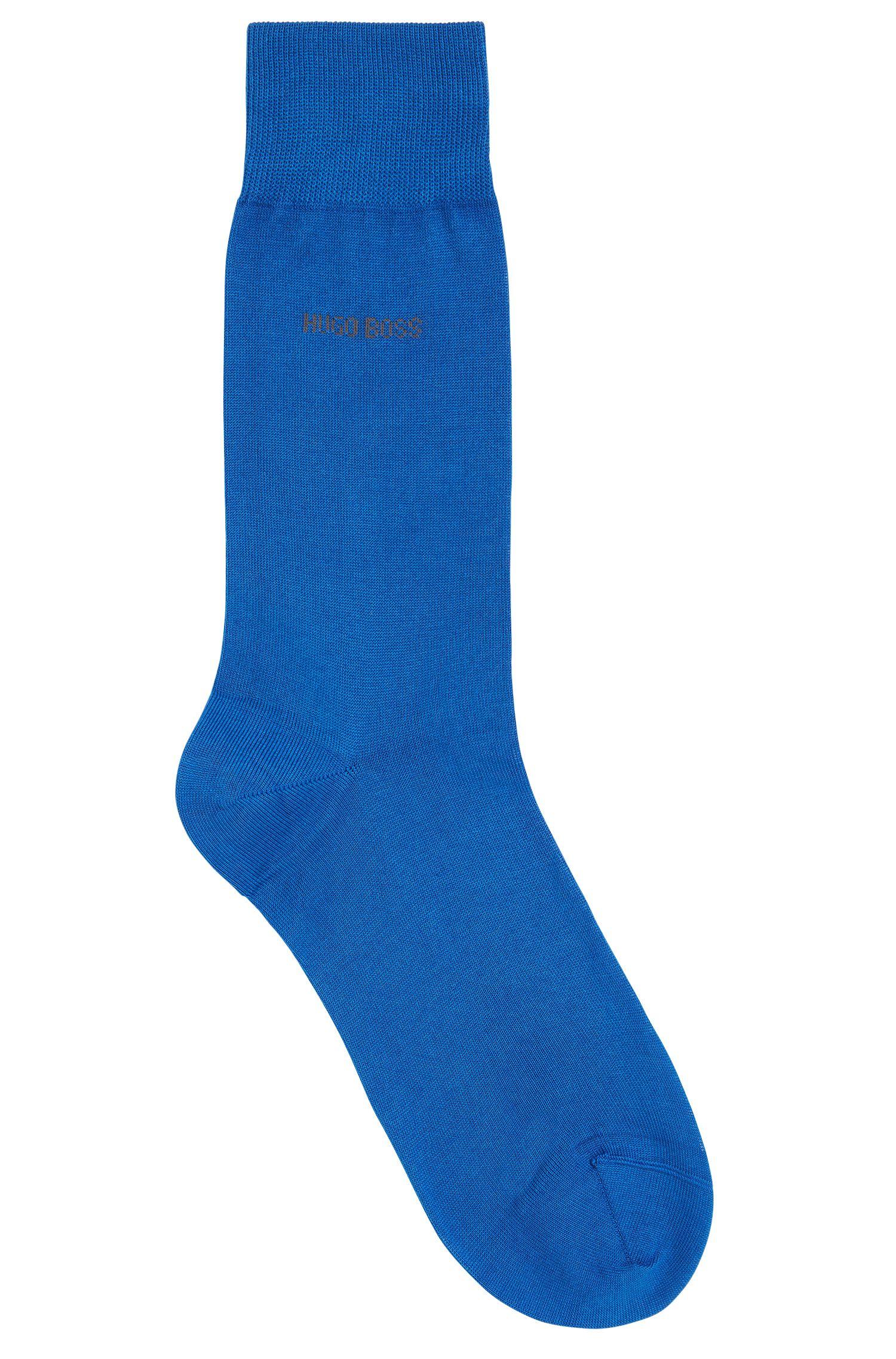 Socken aus merzerisierter Baumwolle