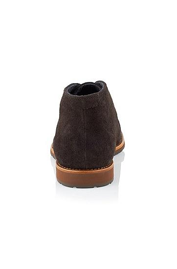 绒面革系带鞋 'Cassel',  205_暗棕色