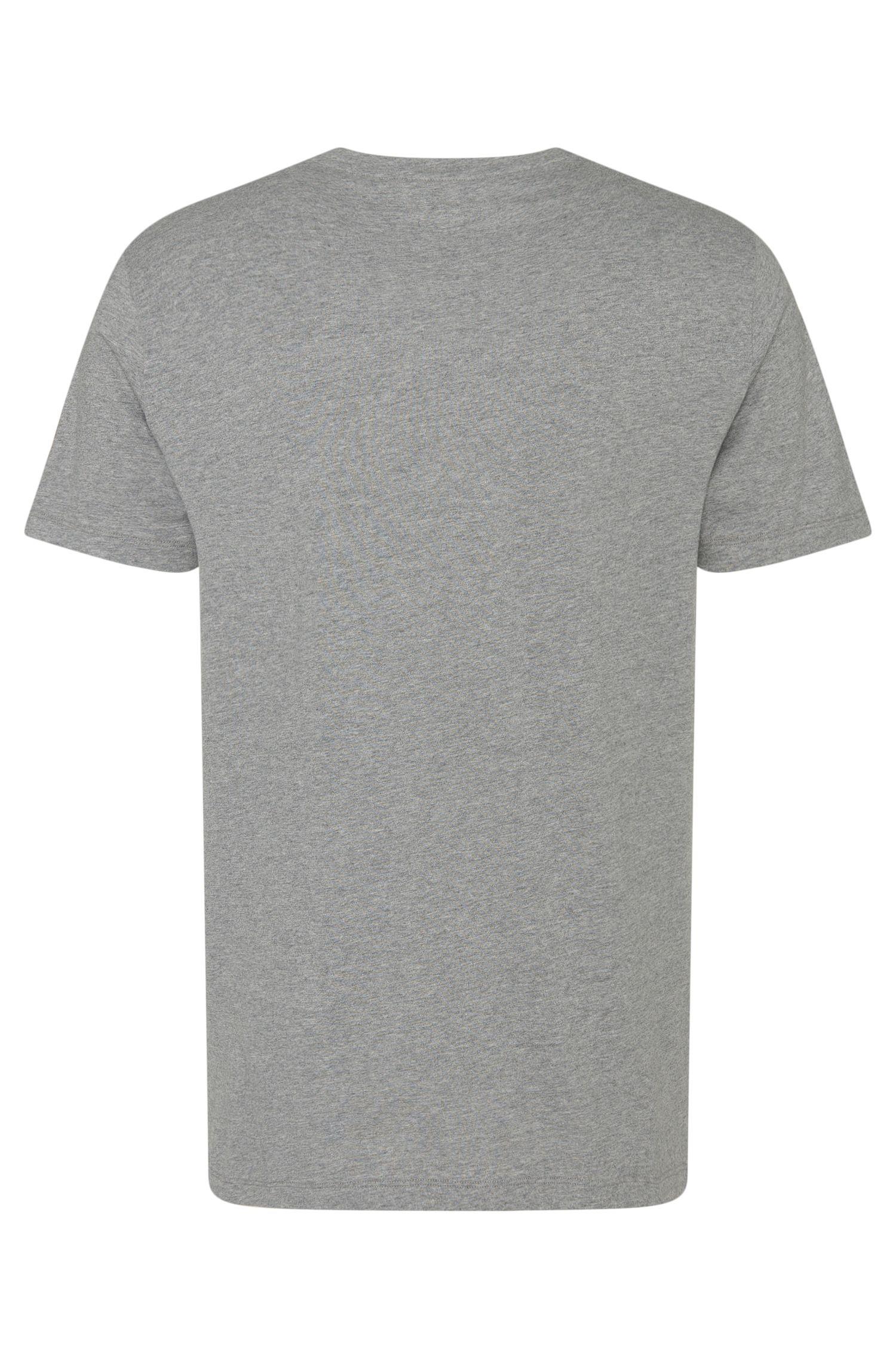 Unifarbenes T-Shirt aus reiner Baumwolle: 'Shirt RN 24'