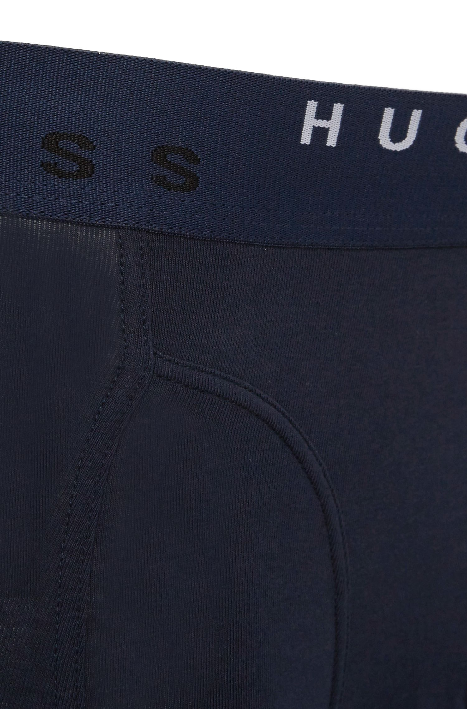 Boxershorts aus Baumwoll-Mix im Zweier-Pack: 'Cyclist 2P FN Print'