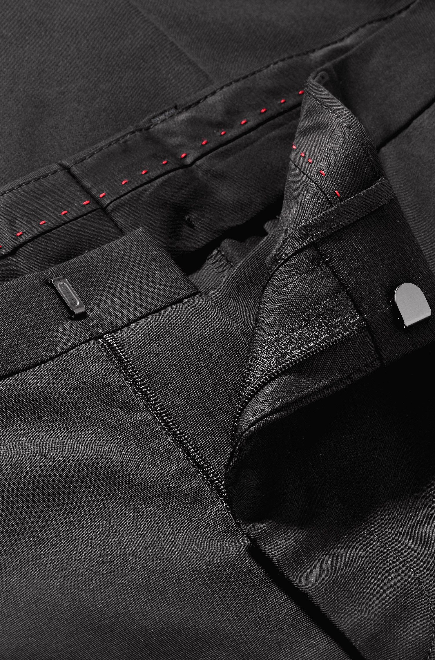 Slim-Fit Business-Hose ´Himmer1` aus Baumwoll-Mix