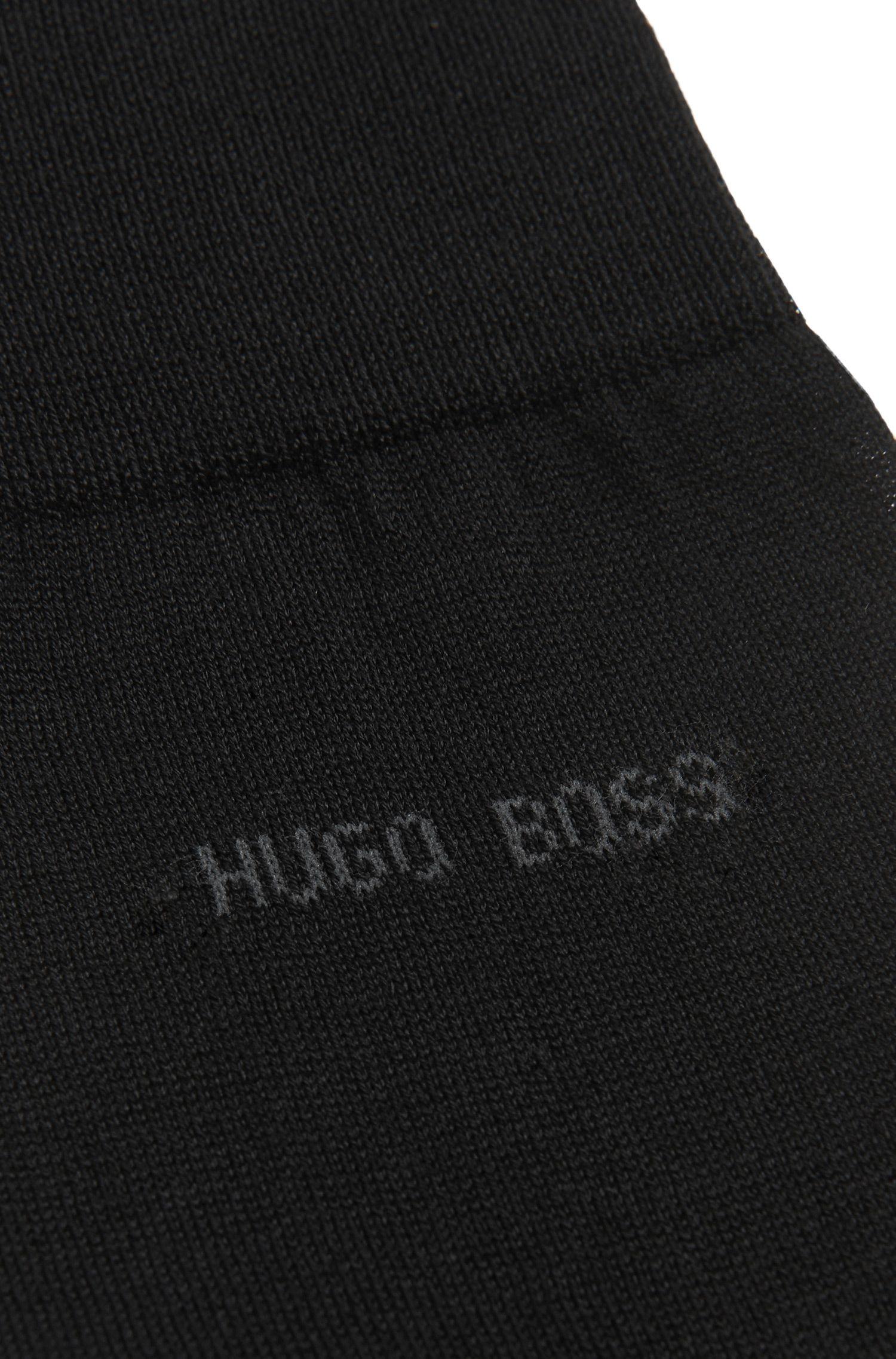 Chaussettes en coton mercerisé: «George RS Uni»