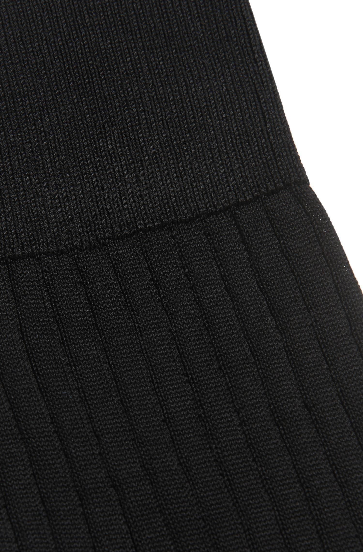 Chaussettes en coton mercerisé: «George RS Rib»