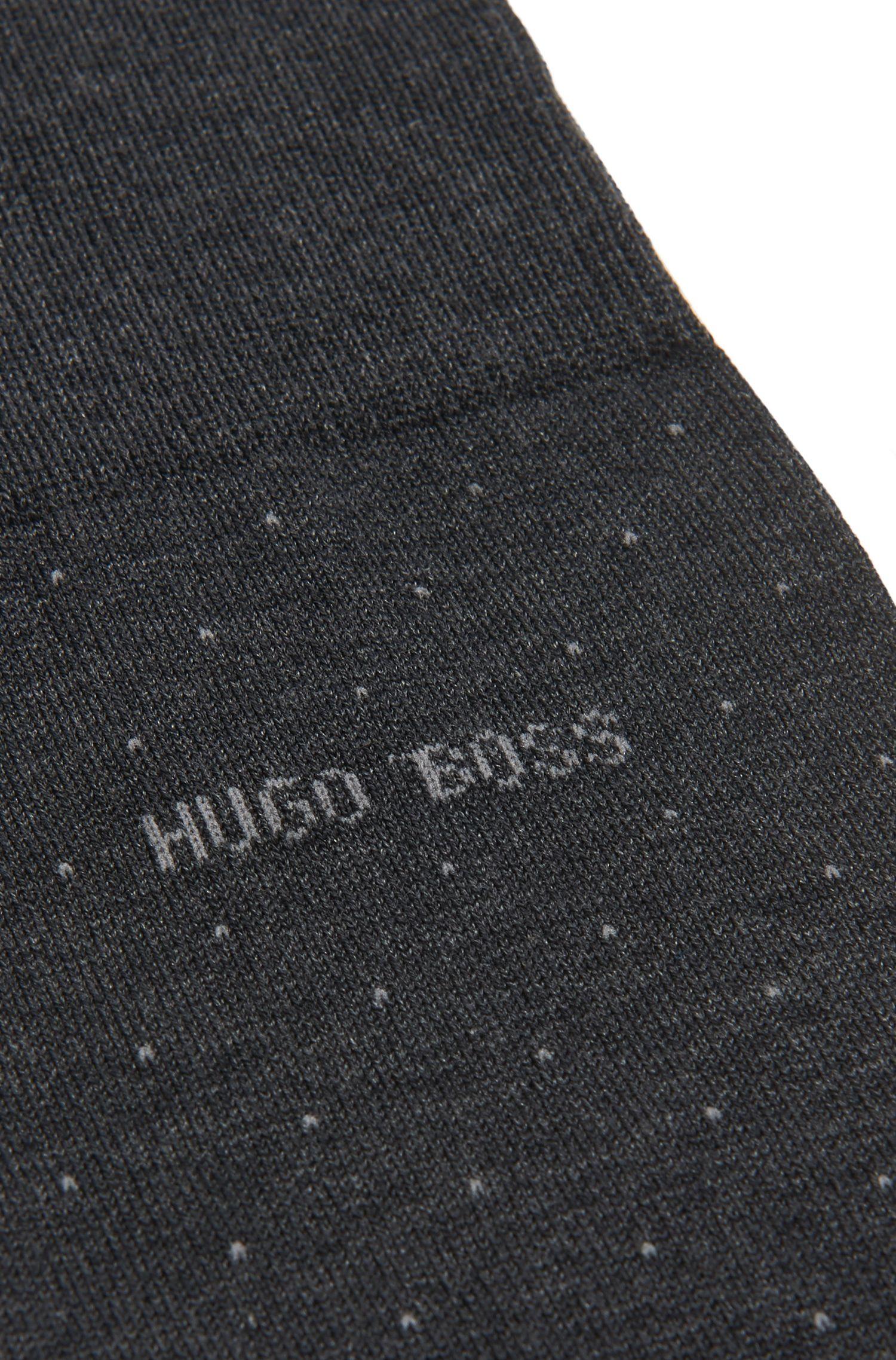 Chaussettes à pois en coton mélangé: «George RS Dots»