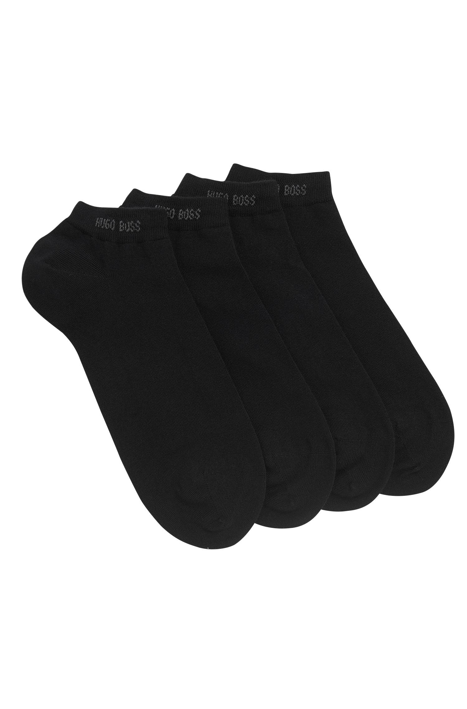 Twopack of ankle socks in cotton blend