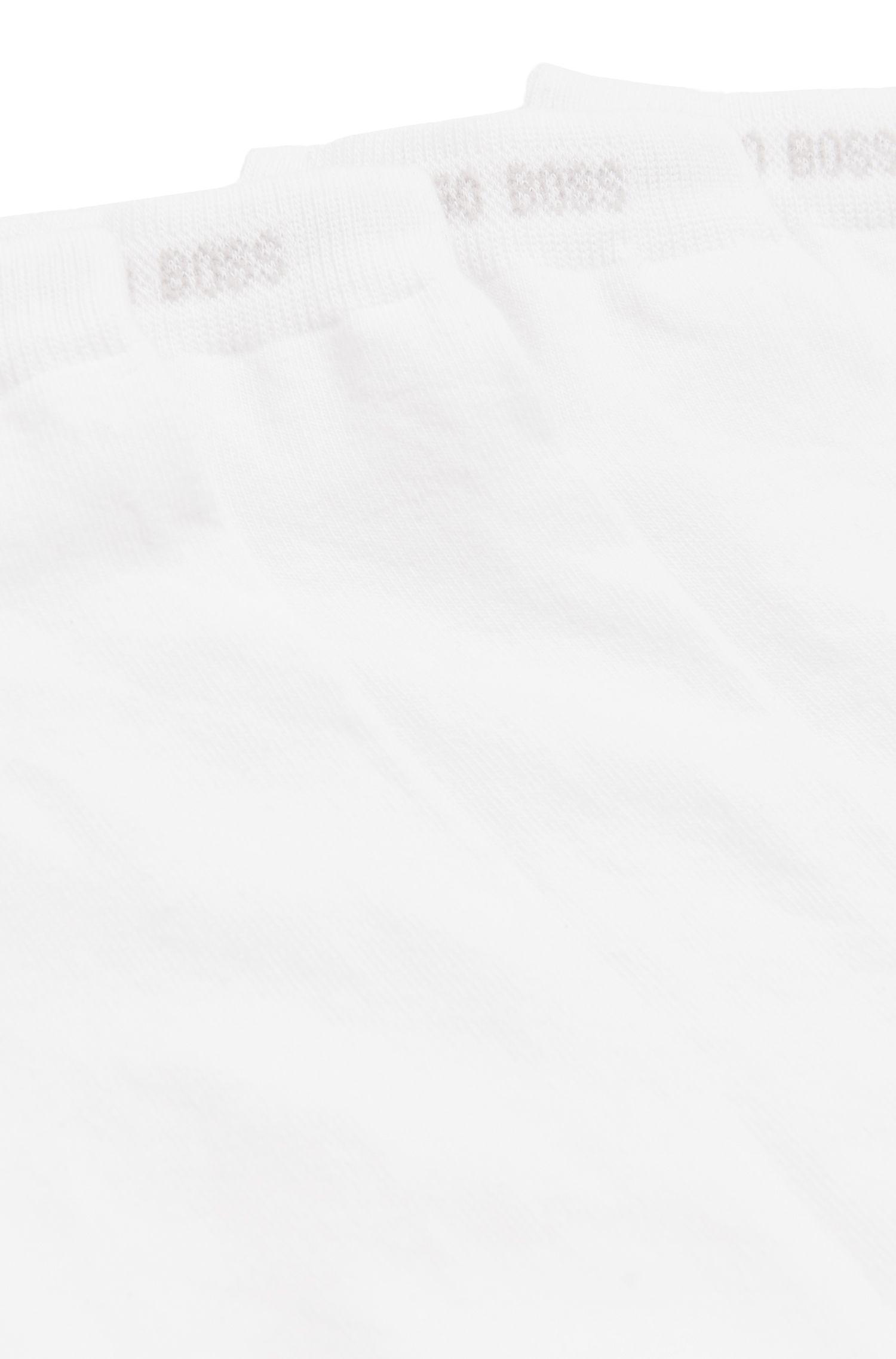 Doppelpack Sneaker-Socken aus elastischem Baumwoll-Mix: ´Twopack Sneaker`