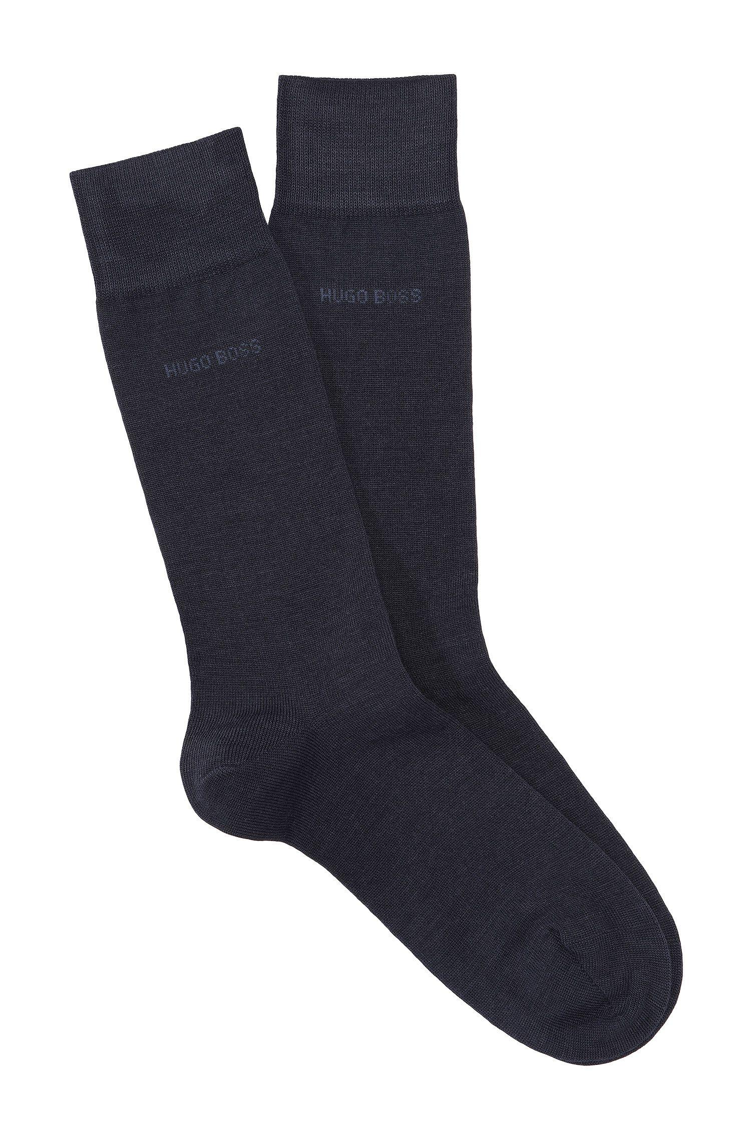 Socken ´Onesize Wo RS Uni` aus Merinowolle-Mix