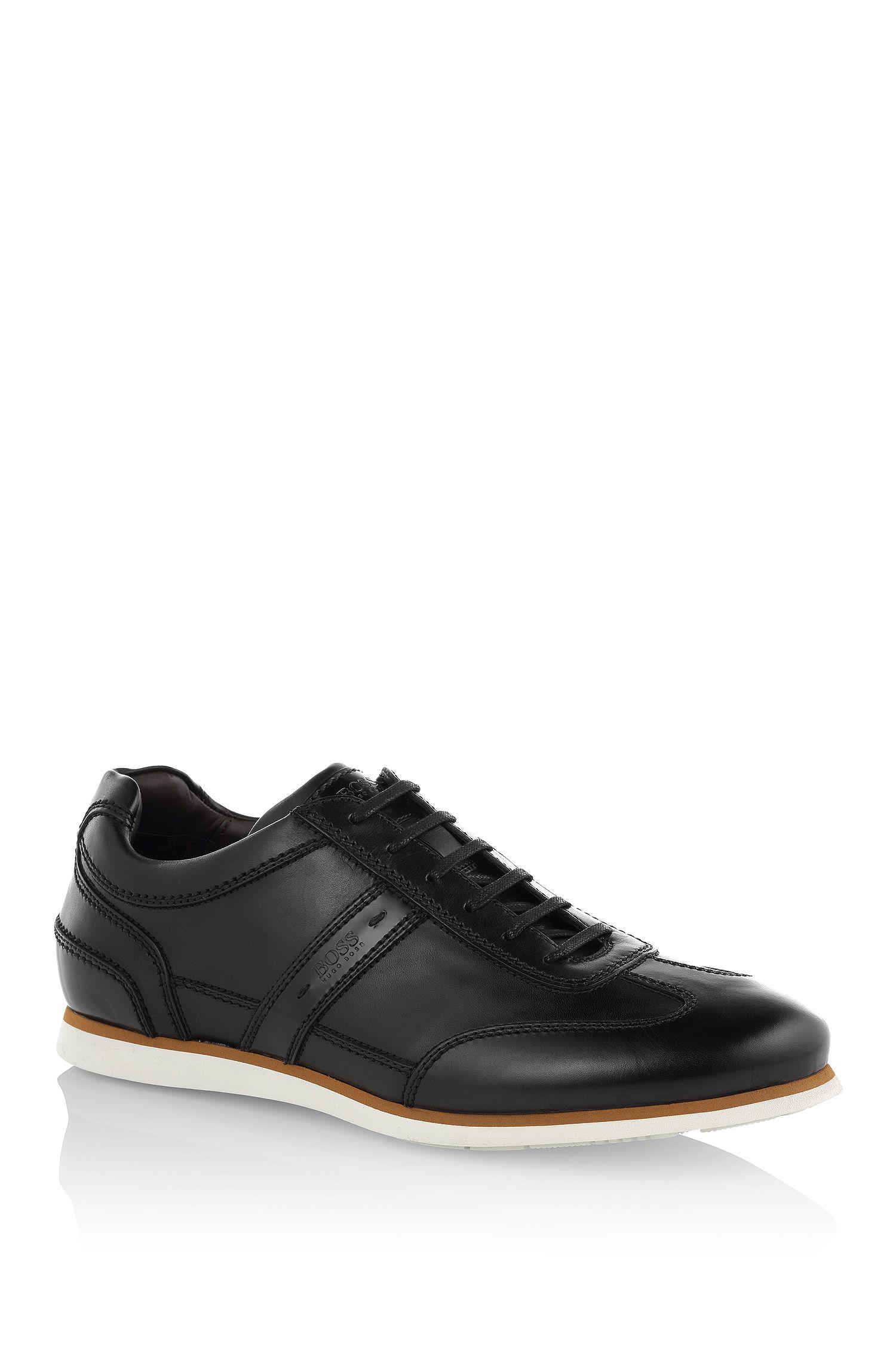 Sneakers 'T-Leisander' van leer