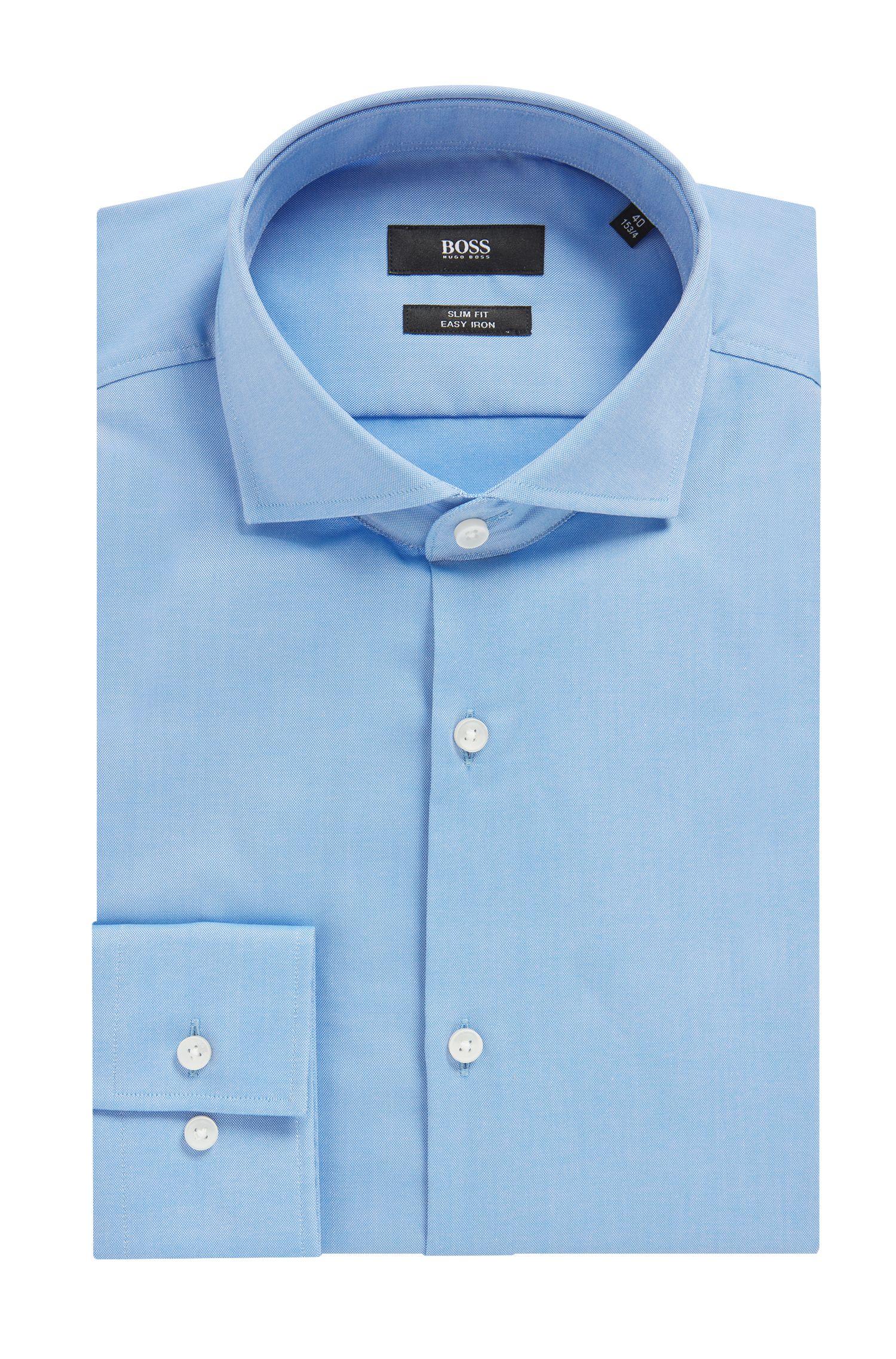 Chemise business coupe Slim Fit «Jason» à manches extra-longues