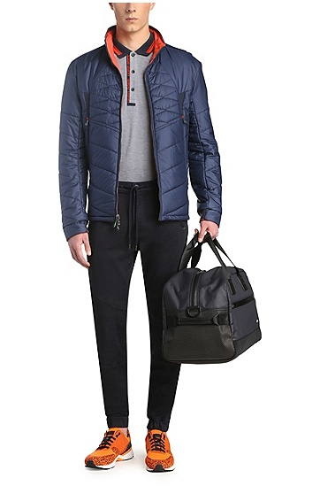 Regular-Fit Poloshirt aus Baumwollpiqué: ´Paule 4`, Grau
