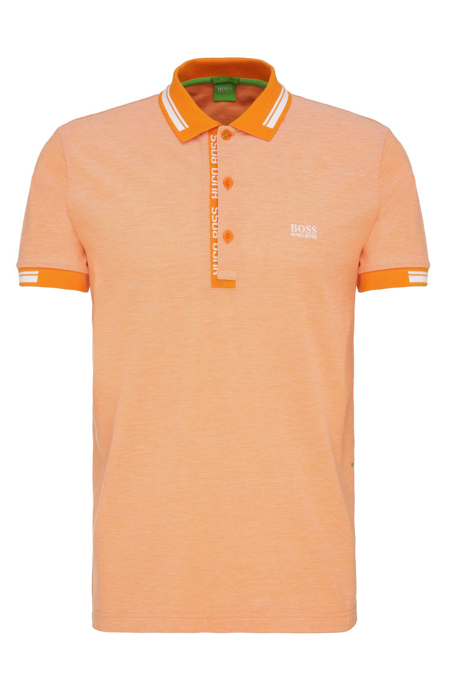 Regular-Fit Poloshirt aus Baumwollpiqué: ´Paule 4`